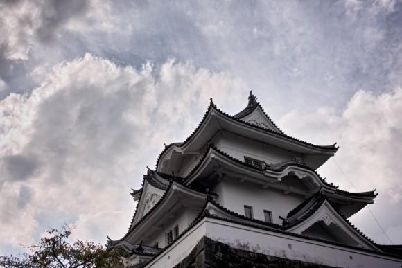 三重県の上野城。スタンダードなお城!って感じだネ。