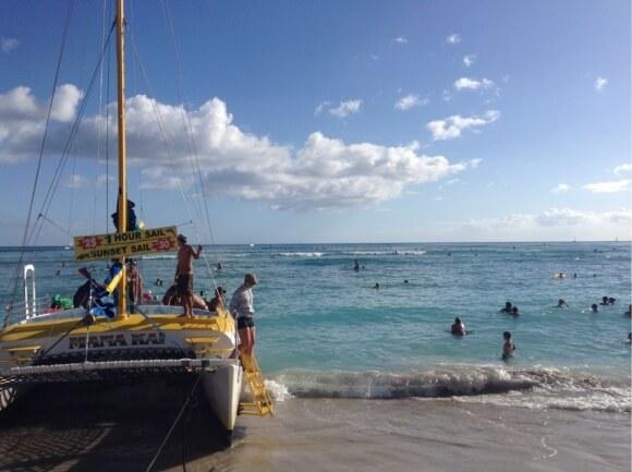 ハワイもまた行きたいね。