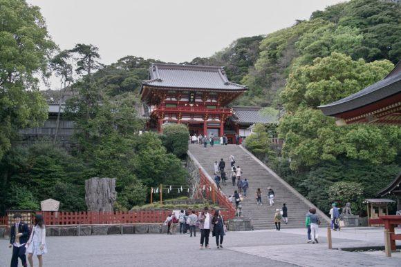 鎌倉の鶴岡天満宮。平日がやっぱりオススメだ。