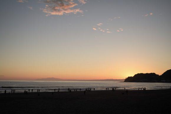 石垣島の写真は現像中なので湘南の海をお届け。